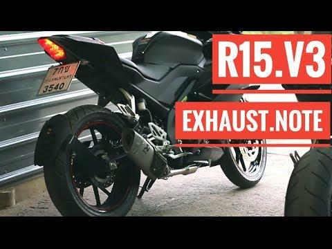 R15 V3 modified exhaust note compilation ( akrapovic, leo Vince, sc  project, Daytona, yoshimura )