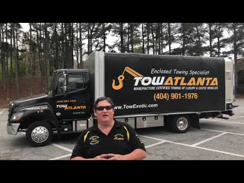 Enclosed Towing Bytow Atlanta 2018