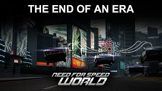 Need For Speed World, the end of an Era..