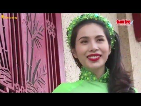 Gặp gỡ ca sĩ Thủy Tiên cô vợ xinh đẹp của cầu thủ Công Vinh | Giải trí 24h