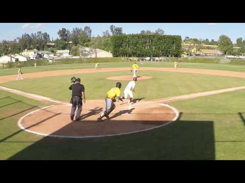 Jackson Van Ness 2020, Anaheim Lions Tournament Highlights 2019 With Walk-off Hit