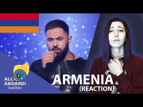 Sevak Khanagyan - Qami Armenia Eurovision 2018 Reaction /Армения Евровидение 2018 реакция