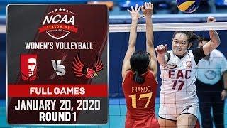 EAC vs. MU - January 20, 2020 | Full Game | 1st Set | NCAA 95 WV