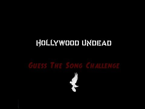 Hollywood Undead Guess The Song Challenge