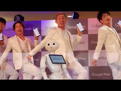 DA PUMP × Pepper で「U.S.A.」のダンス【ケータイ Watch】