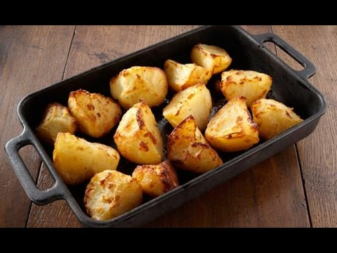 Beef Infused Roast Potatoes | One Pot Chef