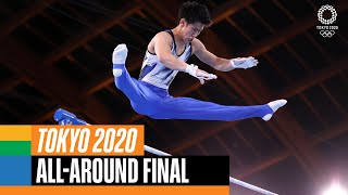 Hashimoto wins the men's individual all-around!   Tokyo Replays