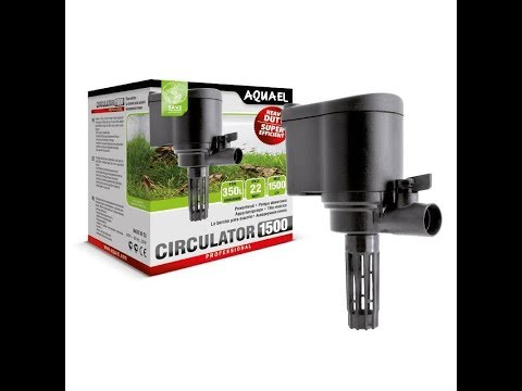 Aquael Circulator 1500 - Unboxing And Review