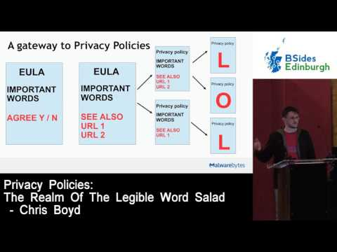 Privacy Policies: The Realm Of The Legible Word Salad by Chris Boyd