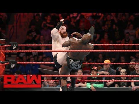 Sheamus vs. Titus O'Neil: Raw, Feb. 27, 2017