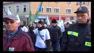 Gwizdy, krzyki i petycje. Gorący marsz przeciwników dużego Opola
