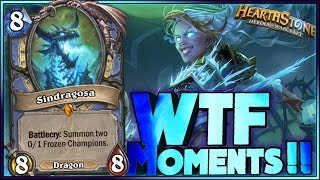 Hearthstone Frozen Throne WTF Moments   Funny and lucky Rng Moments