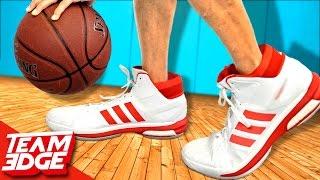 GIANT Shoe Basketball Challenge!!