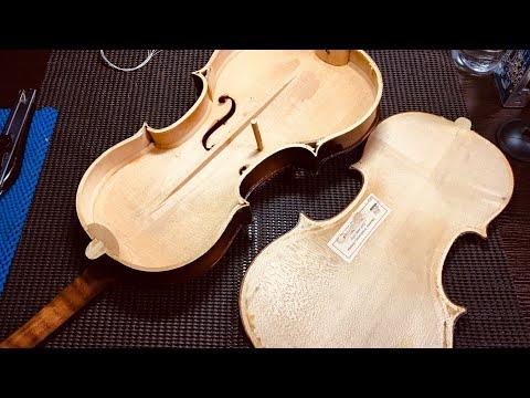 Вопрос: Как чистить скрипку?