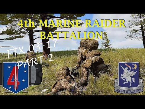 4th Marine Raider Battalion, FTX 03-17 Pt 2