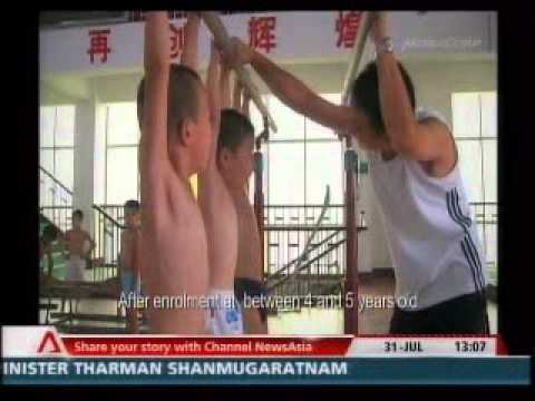 How China trains (read: tortures!) its kids to become Olympic champions!Part1/5 VTS 06 1