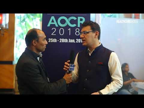 Dr Sanjeev Mani Organising Secretary AOCR 2018 2