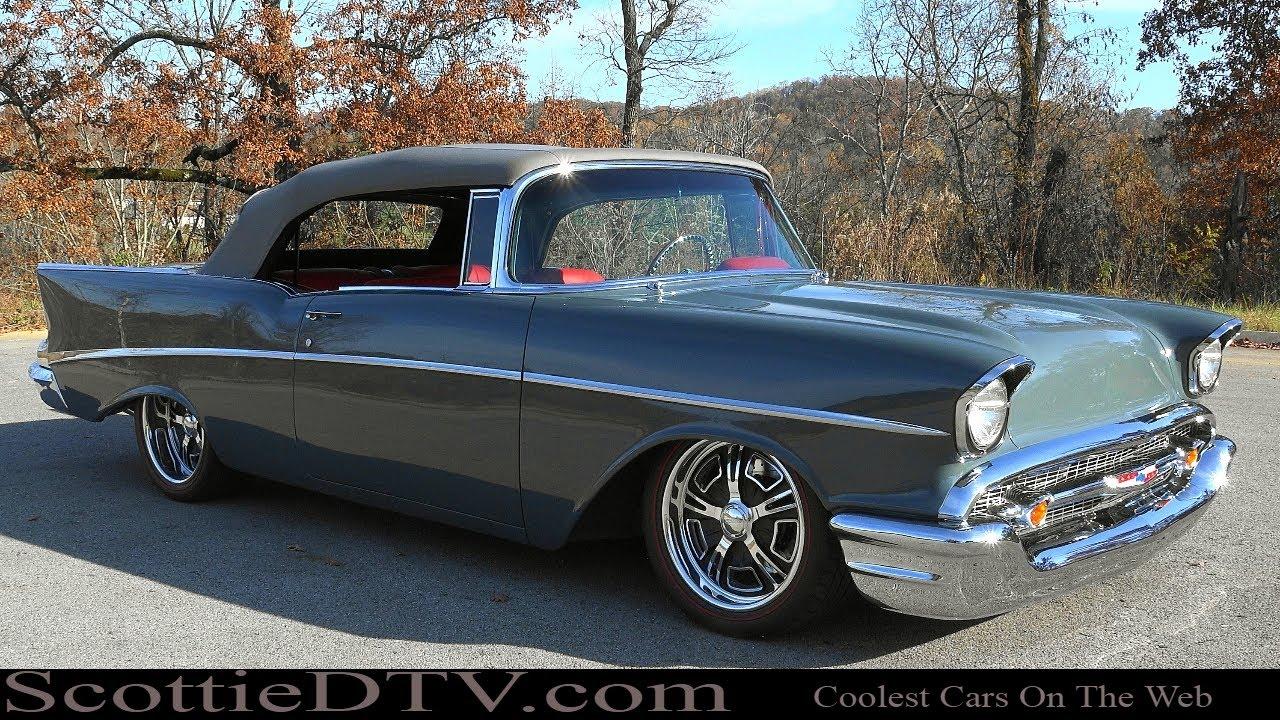 1957 Chevrolet Convertible Steve Holcomb Pro Auto Custom