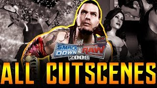 WWE Smackdown vs RAW 2008 | 24/7 Mode All Cutscenes Full Movie PS3/Xbox 360 1080p