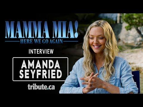 Amanda Seyfried - Mamma Mia! Here We Go Again Interview