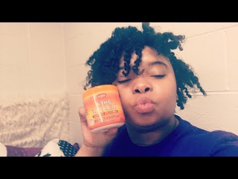 Twist out with Africa pride Shea miracle butter crème | BlasianBeauty