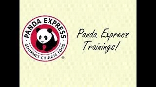 Trainings || Panda Express Roblox
