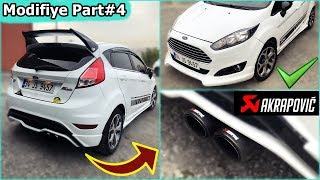 Body Kit & Egzoz Taktım ! Modifiye - Fiesta Part#4