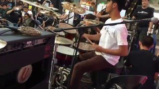 "RICKSON RUIZ | Drum Nation SM Muntinlupa Mall Show ""Weak"" Cover HD"
