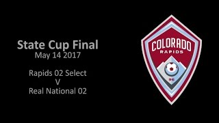 Colorado State Cup Final U15 Colorado Rapids 02 V Real National 02