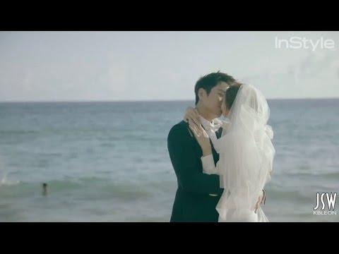 InStyle Korea - Joo Sang Wook and Cha Ye Ryun - Be In Love