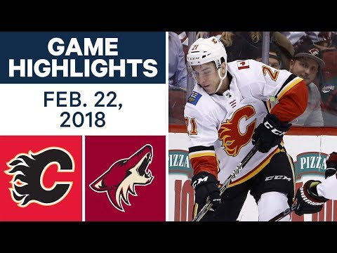 NHL Game Highlights | Flames vs. Coyotes – Feb. 22, 2018
