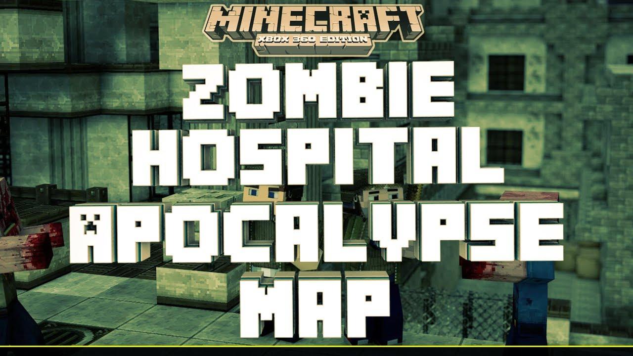 Minecraft Xbox 12 Edition- Zombie Apocalypse Map! w/Download (HD