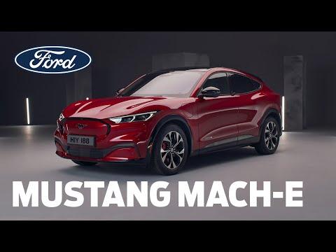 Elektrisk Mustang Mach-E | Guidet gennemgang | Ford Danmark
