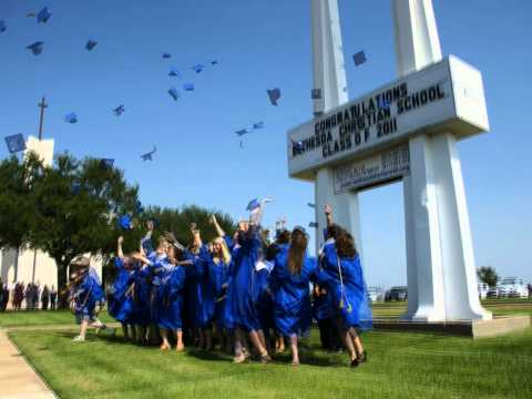 Bethesda Christian School Cap Toss 2011