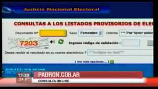 Elecciones 2013: ¿Dónde voto? Consultar padrón electoral [Argentina]