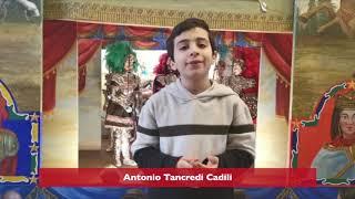 Il piccolo Antonio Cadili per SOS CORONAVIRUS SICILIA