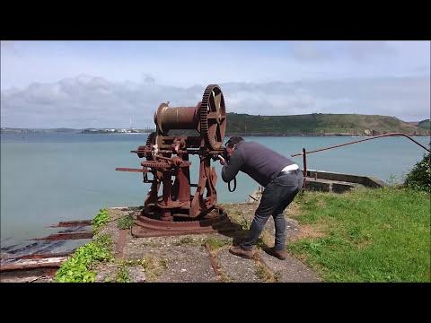R U in Ireland exploring Camden Fort Meagher in Crosshaven Cork Ireland