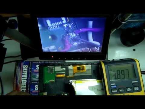 reparacion tablet huawei t101 de movistar que no carga , solucion carga directa