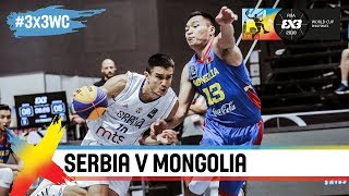 Serbia v Mongolia | Full Game | Quarter-Final | FIBA 3×3 World Cup 2018