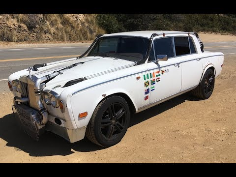 "Turbocharged, Manual 1978 ""Trolls Royce"" Silver Shadow II - One Take"