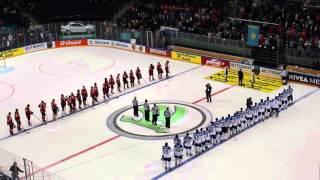 Гимн в честь победителей! Казахстан - Швейцария 3:2!