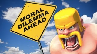 The Clash of Clans moral question | Sub 200 Clash of Clans raiding