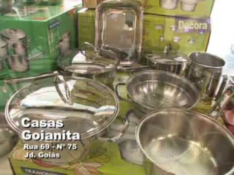 VT Goianita Programa TV Decora SBT 22 08 09