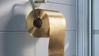 1,3 млн долларов за рулон туалетной бумаги.  Вещи, которые могут себе позволить только самые богатые