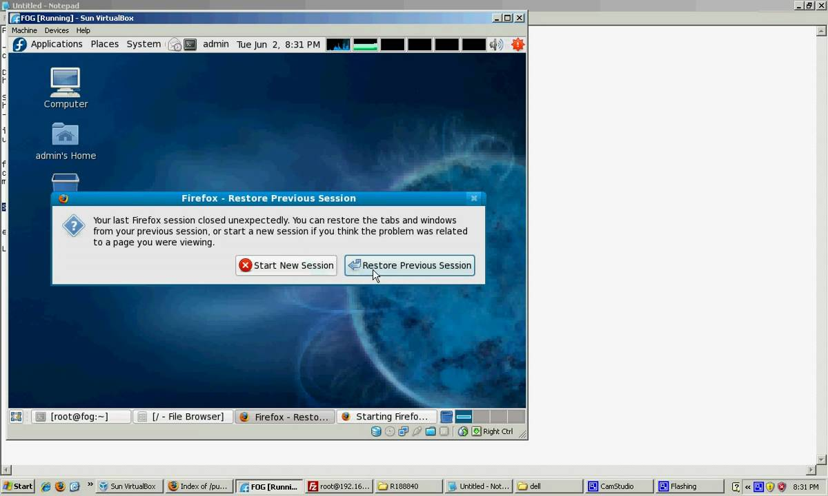Installing Dell diagnostics on the FOG PXE Boot Menu