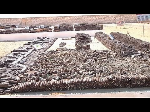 Unexploded WWII ordnance still litters Egypt's Western Desert