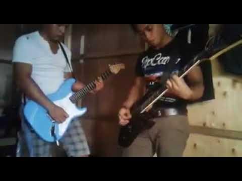 Johnny Nawan & Martine Penguang Guitar cover-Tinggal Kenang-Loudness empire cover