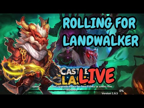 Rolling For Landwalker I Castle Clash