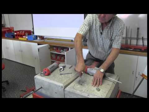 How to install a fischer RM Resin Capsule