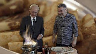 Cata Mayor: la receta en llamas de las crepes Suzette de Via Veneto